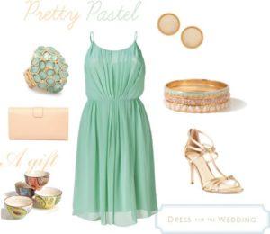 Green Pastel Dress