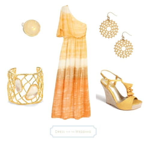 Orange _Beach_ Dress