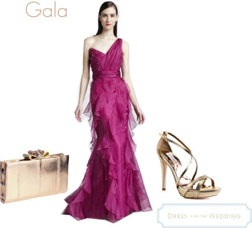 Gala Gown for a Wedding Guest