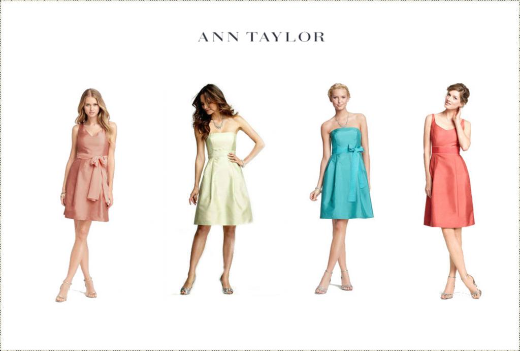Ann Taylor Bridesmaid Dresses