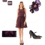 Purple Dress Post