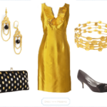 Gold Dress For A Wedding