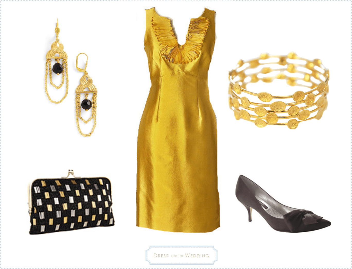 Dresses for a november wedding guest post part 3 dress for Golden dresses for a wedding