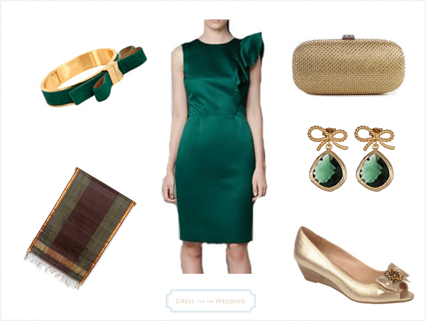Ralph Lauren Emerald Green Dress