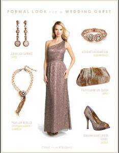 Rose Gold Formal Look