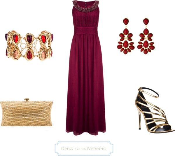Ruby Wedding Gifts John Lewis: Dress For A Formal Wedding John Lewis Deep Ruby Colored Dress