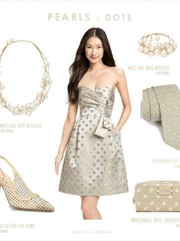 pearls and polka dots