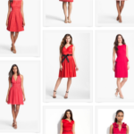 Red Dresses for a Wedding Guest