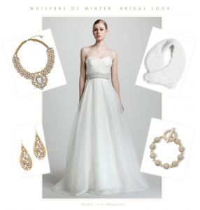 Winter Bride: White and Gold and Sparkle