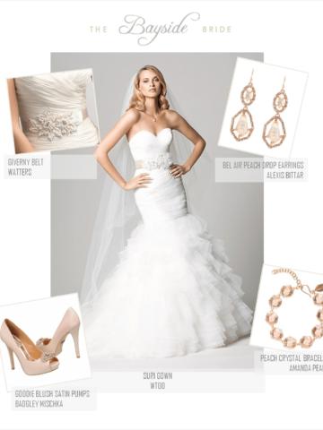 Pink Bridal Look