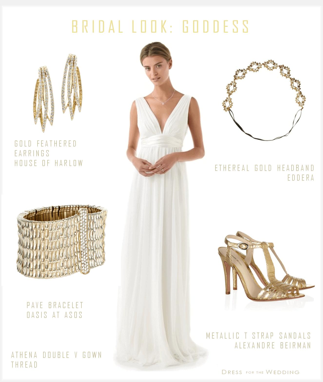 Greek goddess wedding dress for Greek goddess wedding dresses