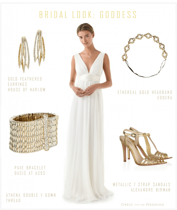 Greek Goddess Wedding Dress