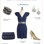 Navy Dress Wedding Guest