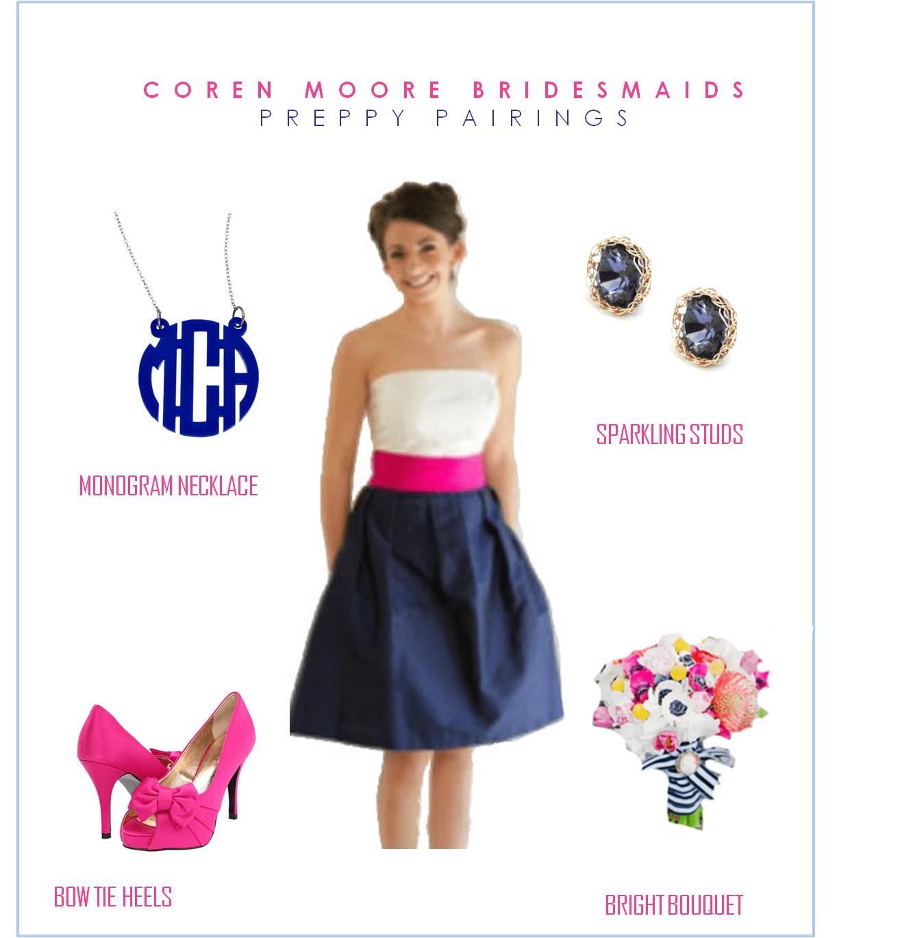 Preppy Bridesmaid Dresses - Flower Girl Dresses