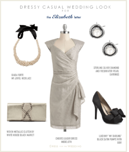 Gray Wedding Guest Dress