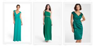 green dresses