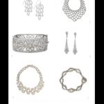 silver sparkle accessories
