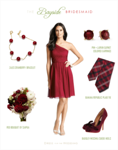 Cranberry Bridesmaid Dress