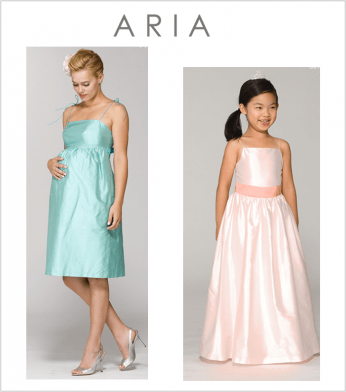 Aria Bridesmaids Dresses And Bridal Gowns
