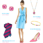 Robin's Egg Blue and Hot Pink Wedding