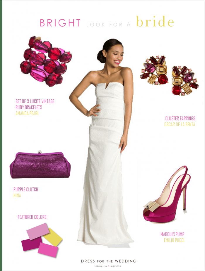 Sleek Bridal Gown