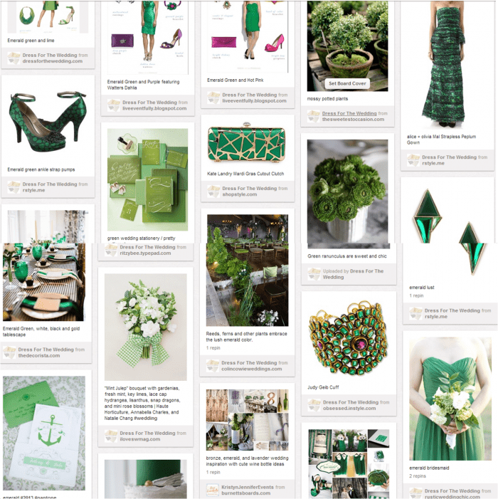 Green Weddings on Pinterest