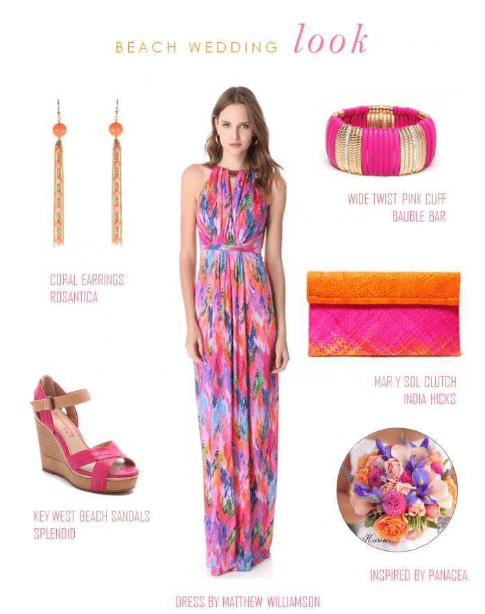 Beach wedding guest look for Beach dress for wedding guest