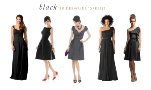 Reader Request : Black Dress for a Bridesmaid