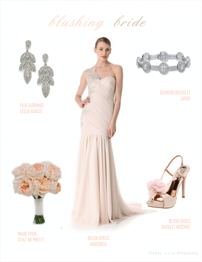 Blush Bridal Gown
