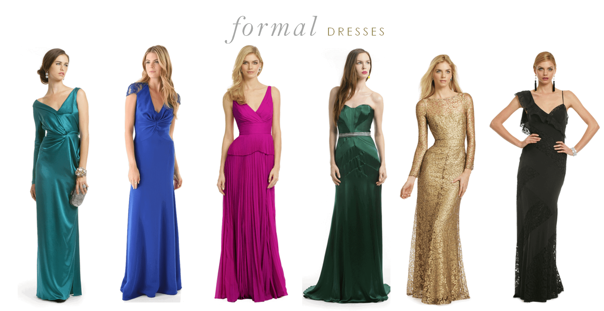 formal dresses for weddings