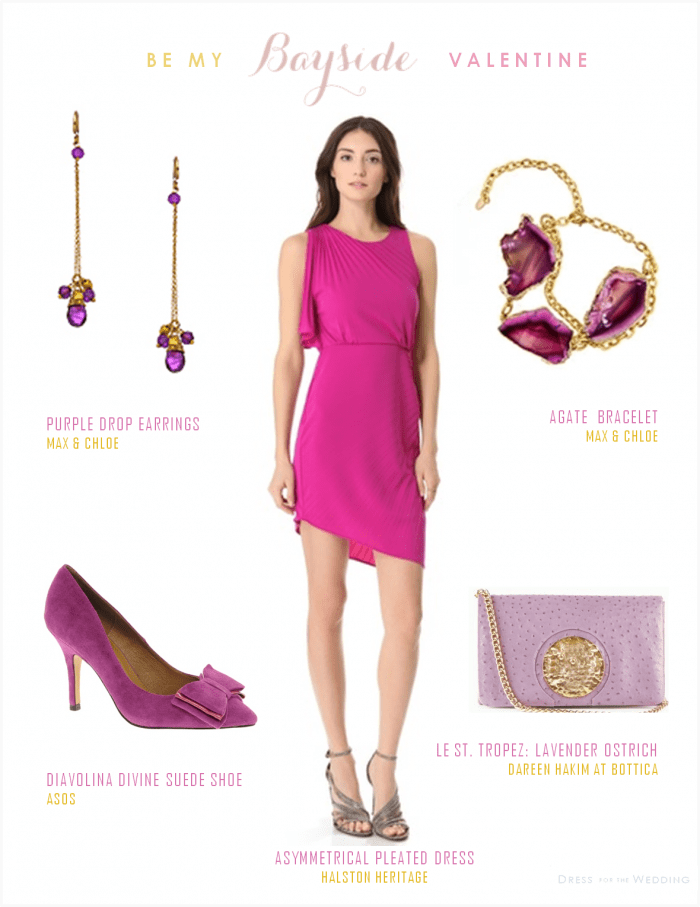 Hot Pink Dress for a Wedding Guest