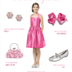 Junior Bridesmaid in Pink