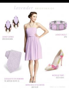 Lavender Bridesmaid