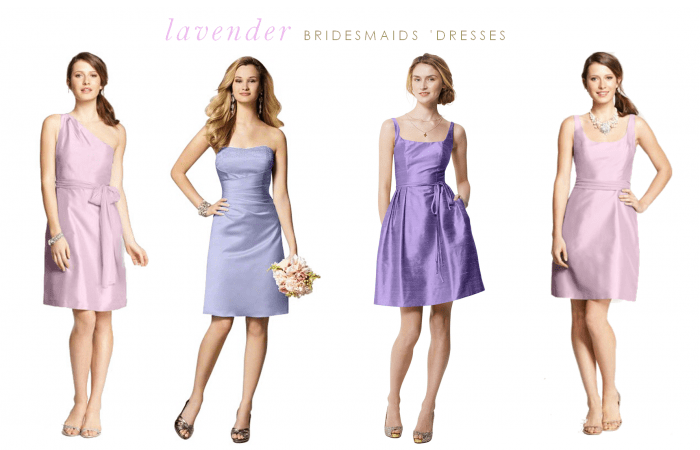 Lavender Bridemaid Dresses