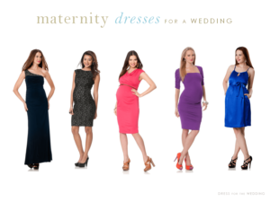 Wedding Guest Maternity Dresses