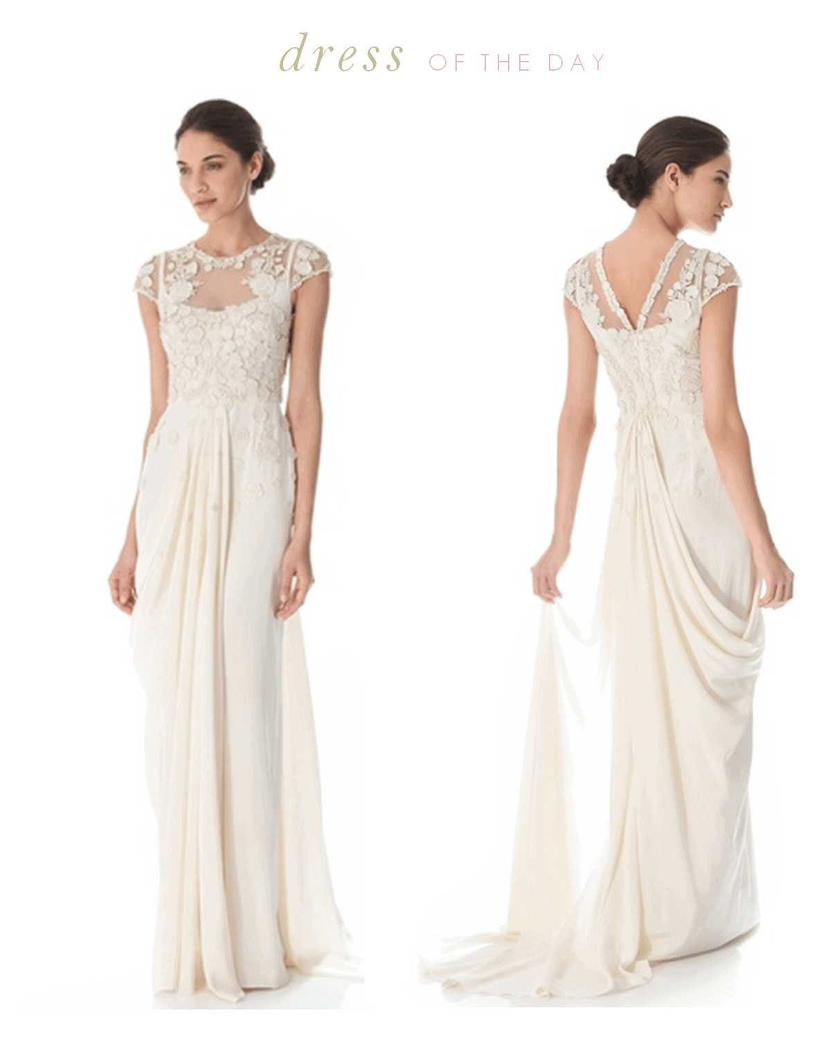 Wedding dress of the day temperley london laelia for Wedding dress outlet london