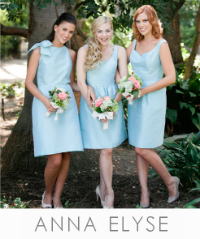 Anna Elyse Bridesmaid Dresses