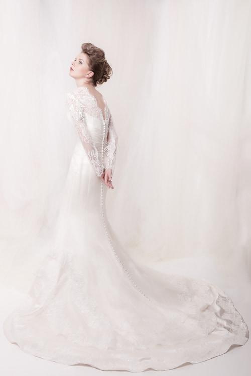 Sarah Drew wedding dress