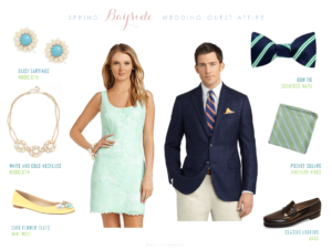 Dressing for a Spring Wedding