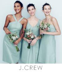 J Crew Bridesmaid