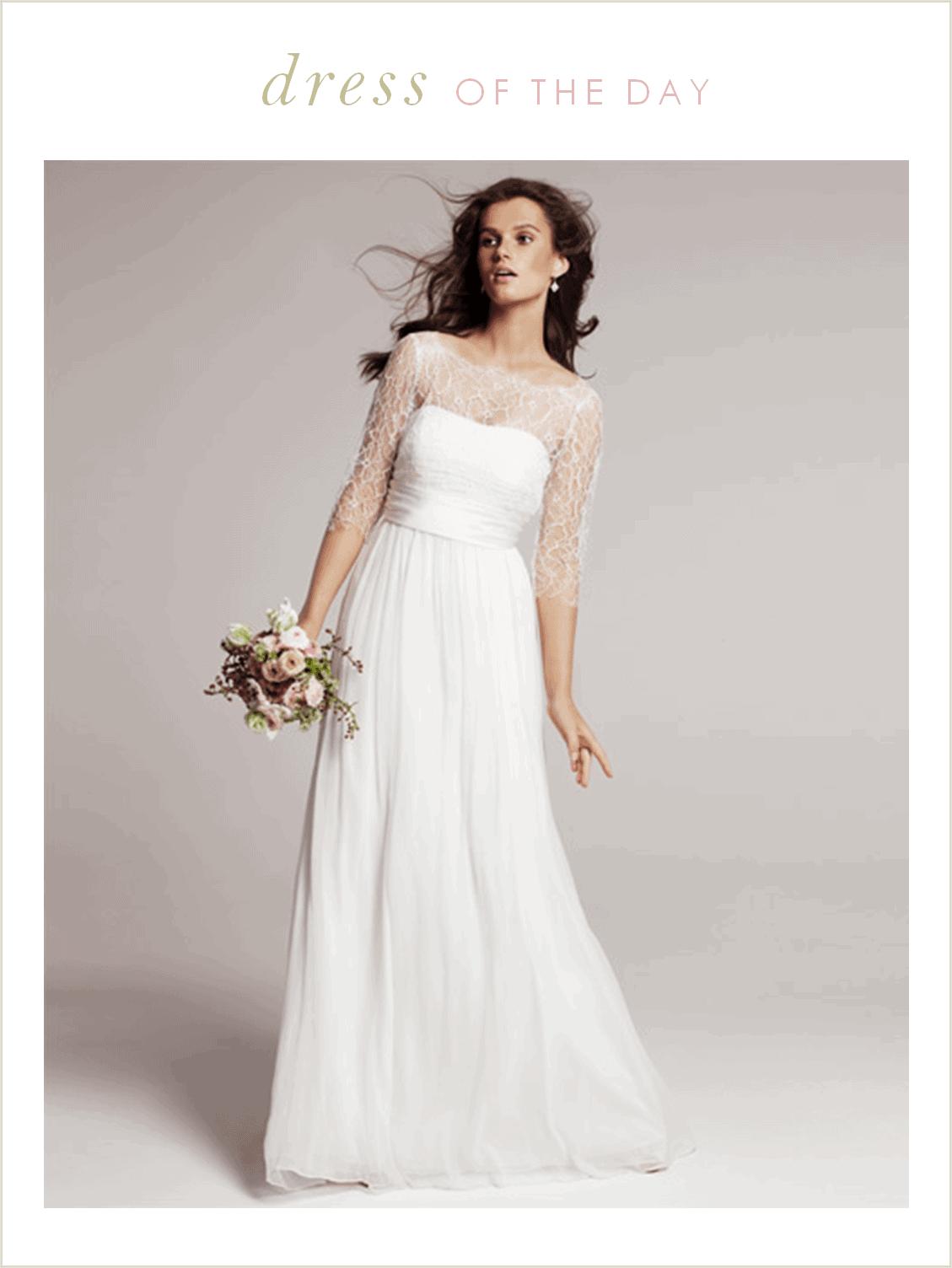 wedding dress of the day rowan by jenny yoo nordstrom wedding dresses