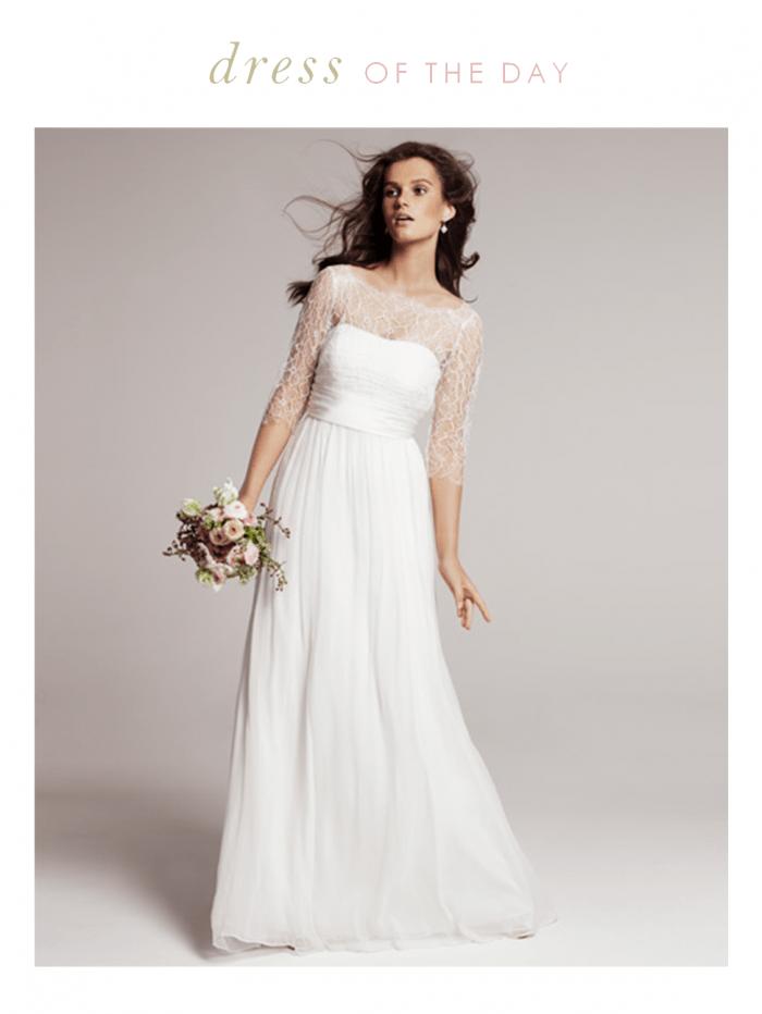 Wedding dress of the day rowan by jenny yoo for Jenny beckman wedding dresses