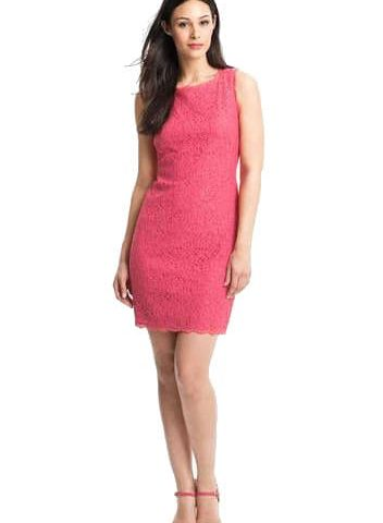 Pink Lace Dress for a Wedding