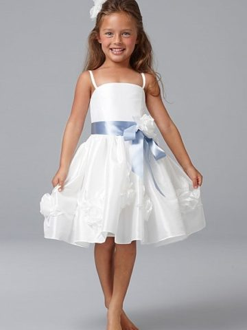 White Dress For a Flower Girl