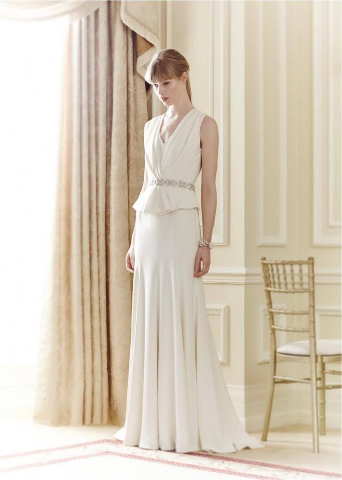 Carine Jenny Packham Bridal 2014