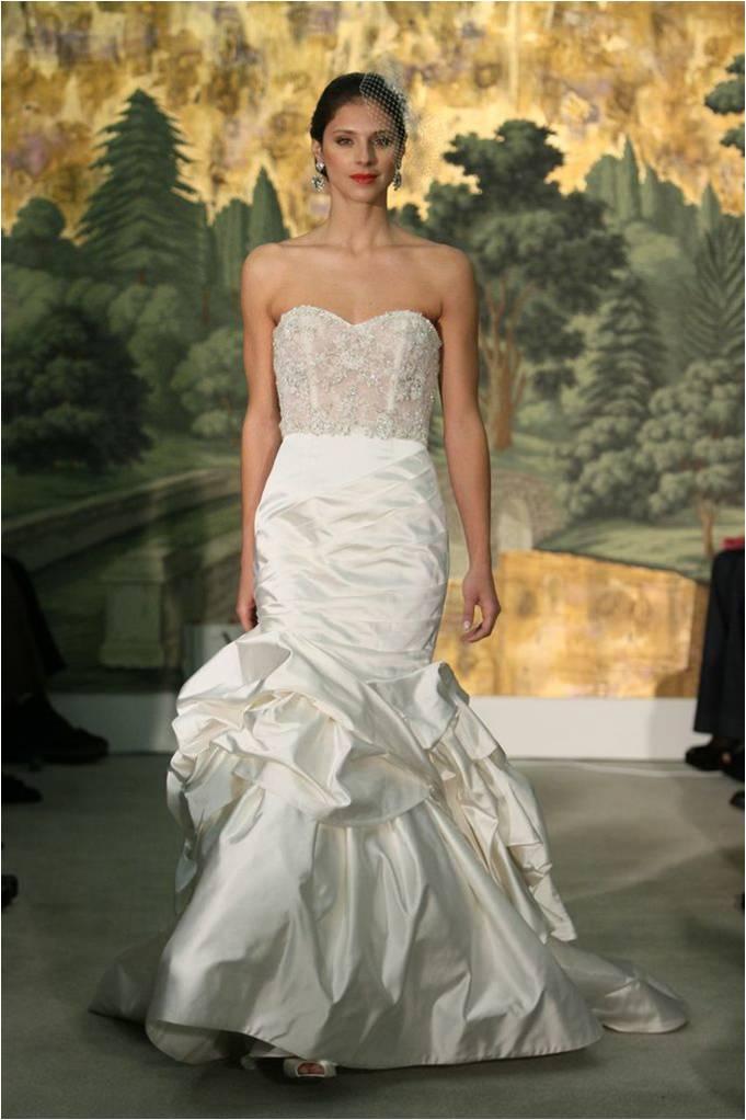 Dahlia Anne Barge 2014 Beaded Wedding Gown