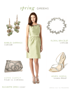 Pale Green Dress