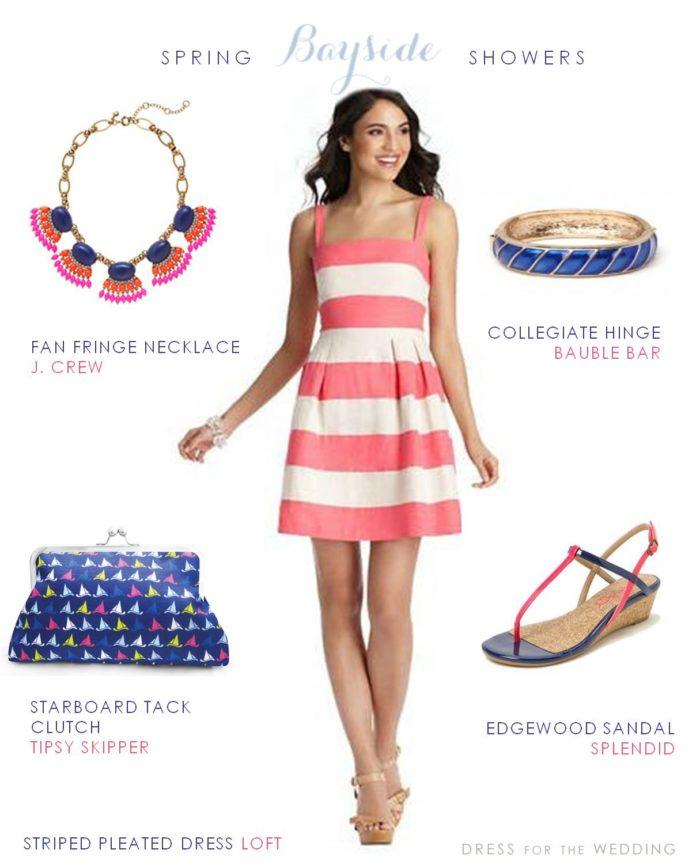 e9e5f86069a Pink and White Striped Dress