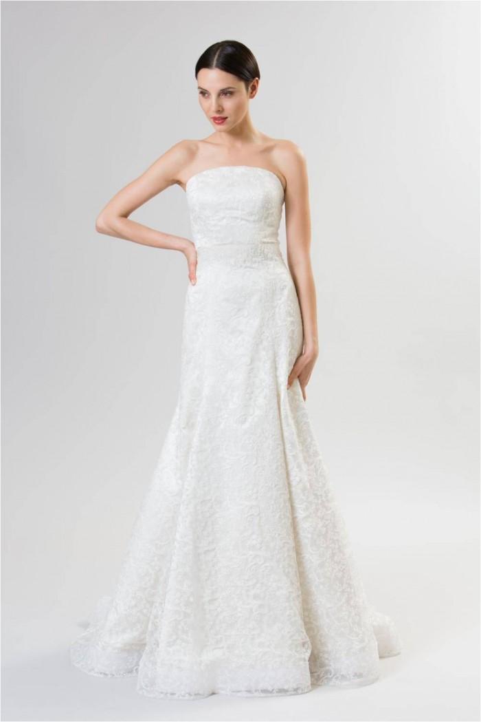 Junko yoshioka wedding gowns spring summer 2014 for Spring summer wedding dresses