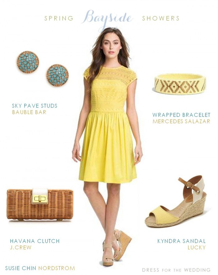 Yellow Dress for Bridal Shower